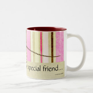 From a Special Friend... Two-Tone Coffee Mug
