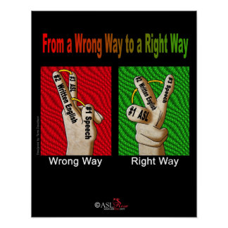 From a Wrong Way to a Right Way Poster