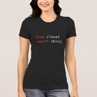 From Closet Import Shirt - dark colours