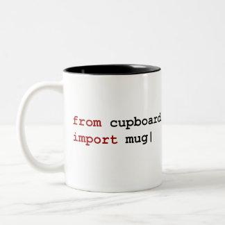 From cupboard import mug - Python