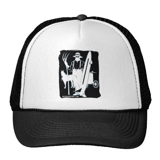 From Dogs to Dudes Amish Surfing gear Mesh Hats