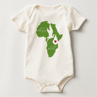From Ethiopia w/ Love Adoption Baby Bodysuit