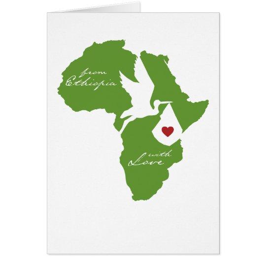 From Ethiopia w/ Love Adoption Shower Invites