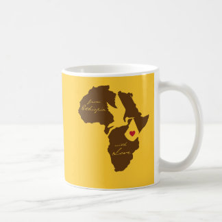 From Ethiopia With Love - Selam! Coffee Mug