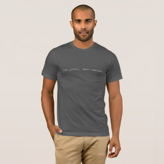 from __future__ import timetravel T-Shirt