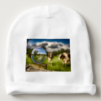 From Grass To Glass Baby Beanie