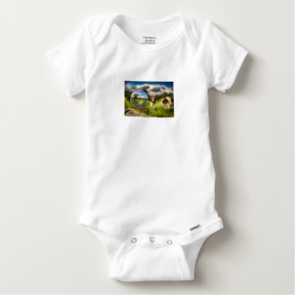 From Grass To Glass Baby Onesie