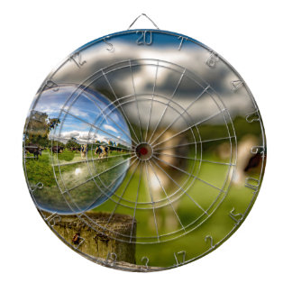 From Grass To Glass Dart Board