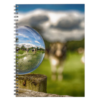 From Grass To Glass Spiral Note Book