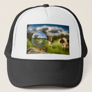 From Grass To Glass Trucker Hat