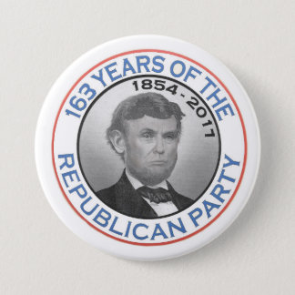 From Lincoln to Trump 3 Inch Round Button
