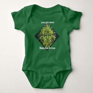 From Little Acorns Green Man Tee Shirts