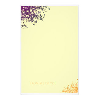 From me to you stationery