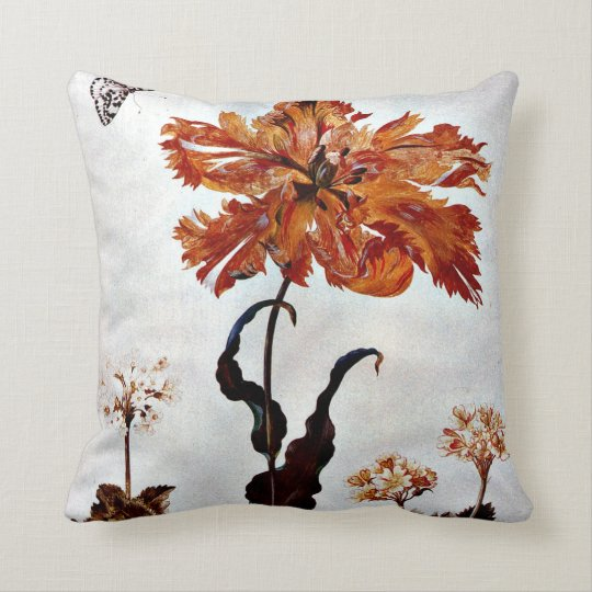 From Metamorphosis Insectorum Surinamensium Throw Pillow