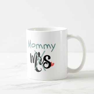 from Mrs. to Mommy! New Mom Mug (aqua)