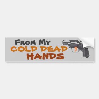From My Cold Dead Hands 2nd Amendment Bumper Sticker