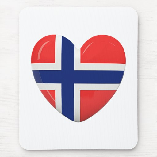 From Norway With Love Mousepads