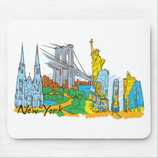 From Old To New York Mouse Pad