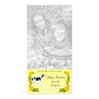 From One Borzoi Friend to Another Picture Card