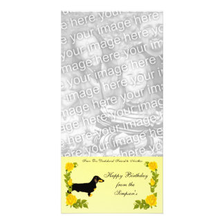 From One Dachshund Friend to Another Picture Card