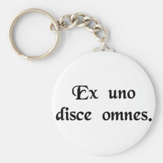From one learn all key chain