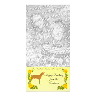 From One Redbone Coonhound Friend to Another Picture Card