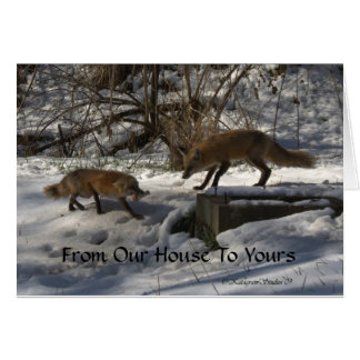 From Our House To Yours Card
