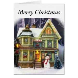 """From """"Our house to Yours"""" Traditional style Card"""