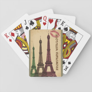 From Paris With Love Poker Deck