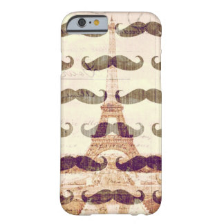 From Paris with mustache Barely There iPhone 6 Case