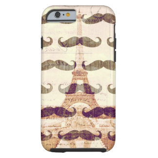 From Paris with mustache Tough iPhone 6 Case