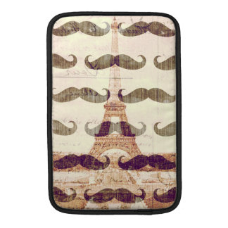 From Paris with mustache MacBook Sleeve