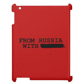from russia with------- iPad covers