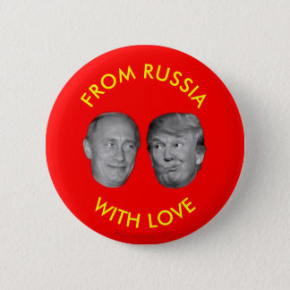 FROM RUSSIA WITH LOVE 2 INCH ROUND BUTTON