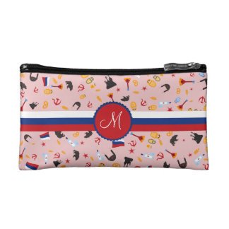 From Russia With Love- Russian Monogram Makeup Bag