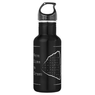 From Stone to Screen 532 Ml Water Bottle