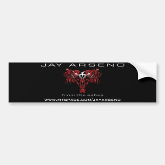 """""""From The Ashes"""" Album Cover Bumper Sticker"""