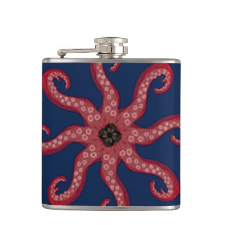 From the Depths Hip Flask
