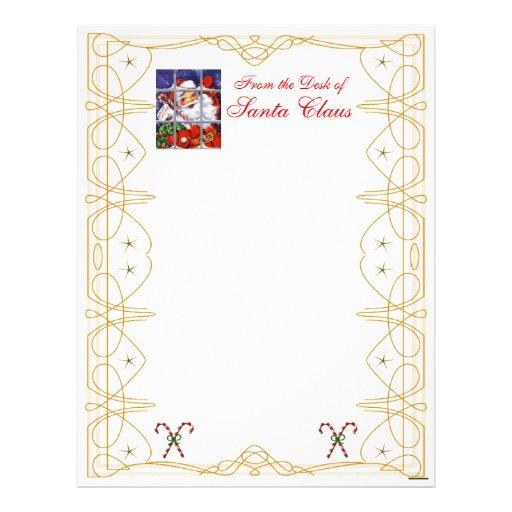From the Desk Christmas Letterhead-Customize