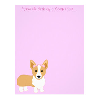 From the desk of a Corgi lover... Stationery