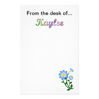 From the desk of Kaylee Stationery