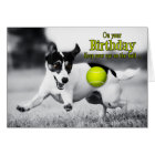 from the Dog Birthday - Go Fetch JRT Card