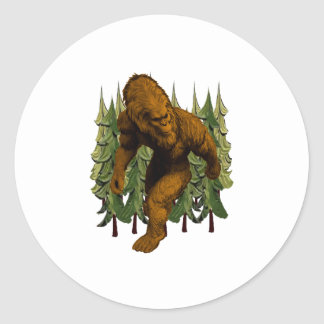 FROM THE FOREST CLASSIC ROUND STICKER