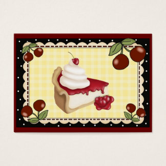 From the Kitchen Card - Cherry Cheesecake - SRF