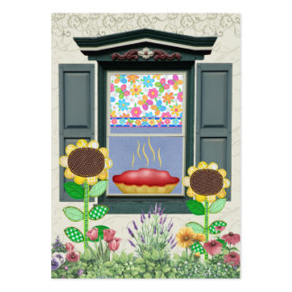 """""""From the Kitchen"""" Card / Tag - SRF Large Business Card"""