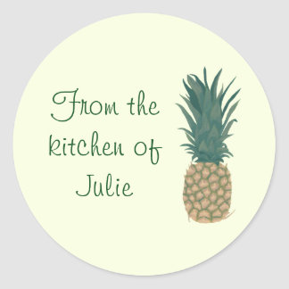 From the Kitchen of Pineapple Lid Stickers