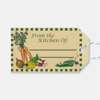 From The Kitchen of: Recipe Gift Tag Pack Of Gift Tags