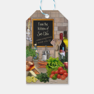 From the Kitchen of (your name) Gift Tags