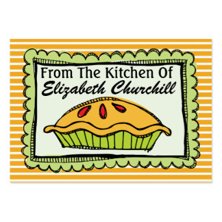 From the Kitchen - SRF Large Business Card
