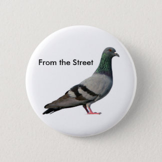 From the Street 2 Inch Round Button